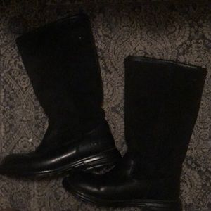 Black Sheep Wool Lined Boots